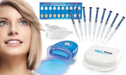 Ultra White Home Teeth Whitening Kit with Three or Nine Syringes