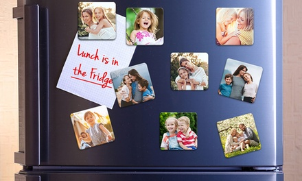 Up to 27 Personalised Magnets in Choice of Size from Photo Gifts (Up to 88% Off)