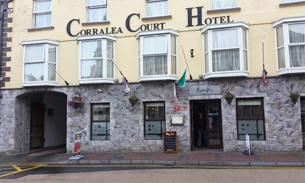 Co. Galway: 1 2 Nights for Two with Breakfast, Dinner and a Glass of Wine at Corralea Court Hotel