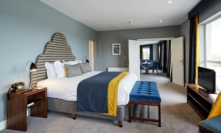 Cork: 1 or 2 Nights for Two with Breakfast, Dinner, Prosecco, Chocolates, and Leisure Access at the 4* Montenotte Hotel