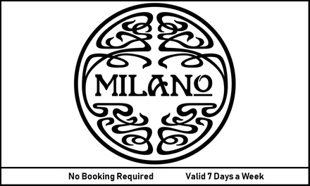 Choice of Starter and Classic or Leggera Pizza, Salad or Al Forno Dish for Two at Milano (Up to 46% Off)